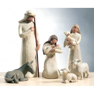 STATUETTE NATIVITA' PRESEPE WILLOW TREE