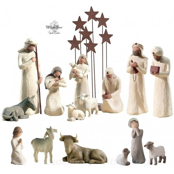 PRESEPE WILLOW TREE (senza zampognaro)