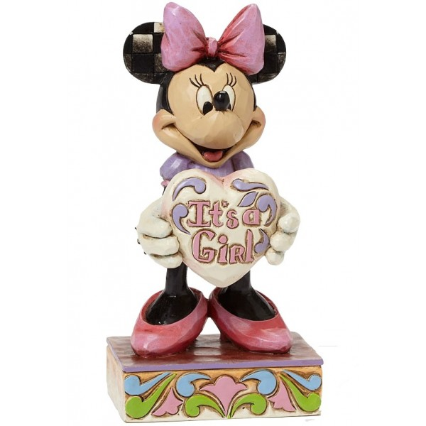 MINNIE IT'S A GIRL DISNEY TRADITIONS
