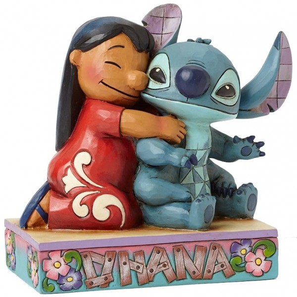 LILO E STITCH DISNEY TRADITIONS JIM SHORE
