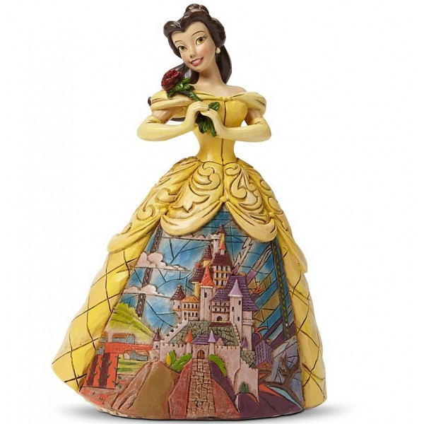 BELLE ABITO DECORO CASTELLO DISNEY TRADITIONS