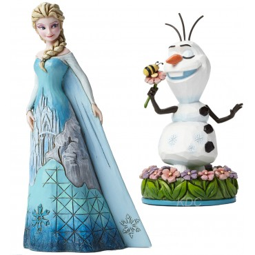 LOTTO ELSA + OLAF FROZEN DISNEY TRADITIONS