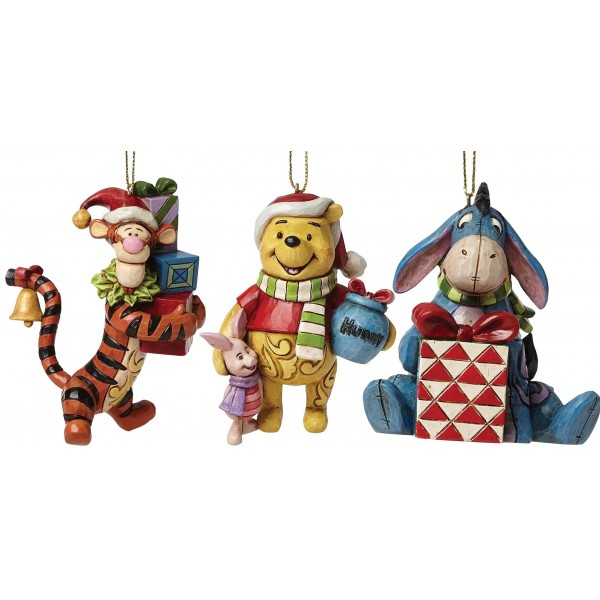 LOTTO 3 ADDOBBI WINNIE THE POOH DISNEY TRADITIONS