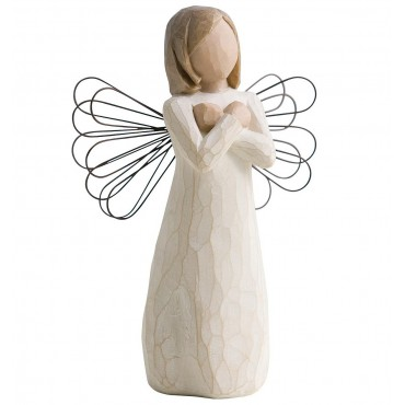 STATUINA WILLOW TREE GESTO D'AMORE