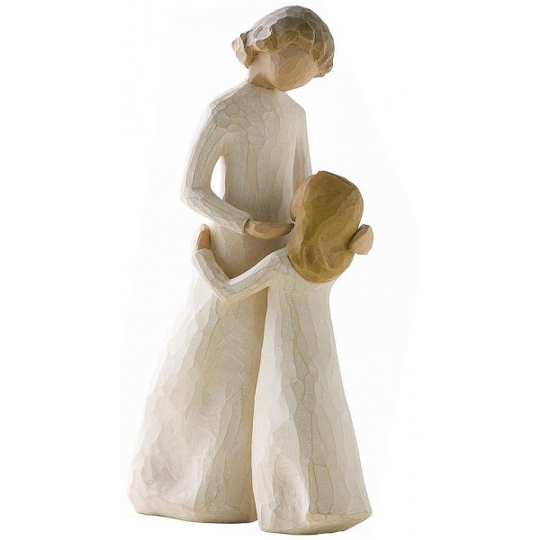 STATUETTA WILLOW TREE MADRE E FIGLIA