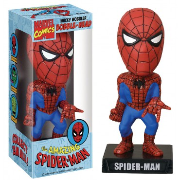 MARVEL WACKY WOBBLER SPIDERMAN