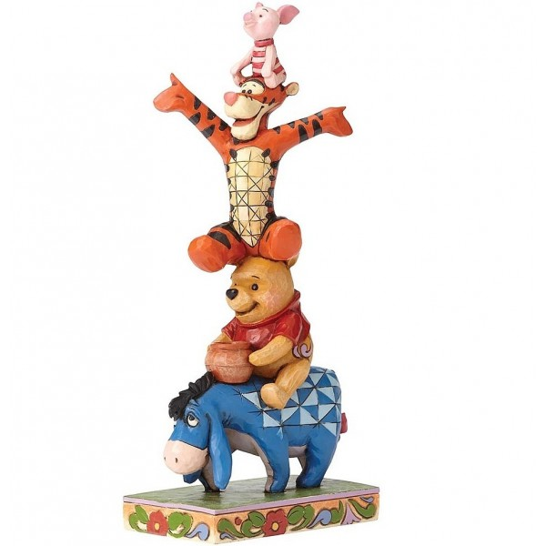 WINNIE TIGRO E IH-HO DISNEY TRADITIONS JIM SHORE