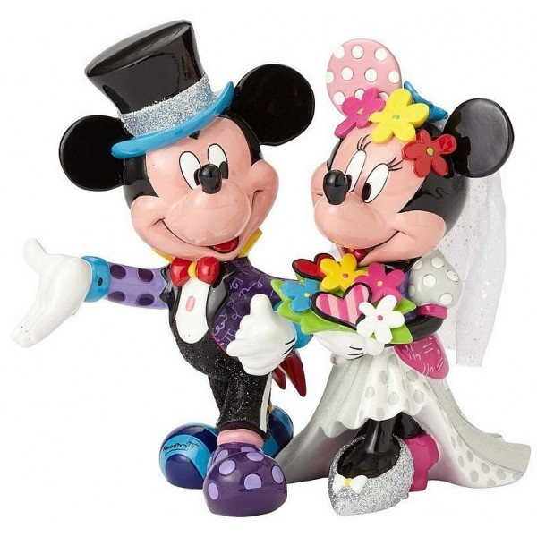 TOPOLINO E MINNIE SPOSI DISNEY BRITTO