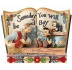 STORYBOOK PINOCCHIO DISNEY TRADITIONS JIM SHORE