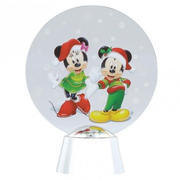 MINNIE E TOPOLINO DISNEY HOLIDAZZLER DEPT.56