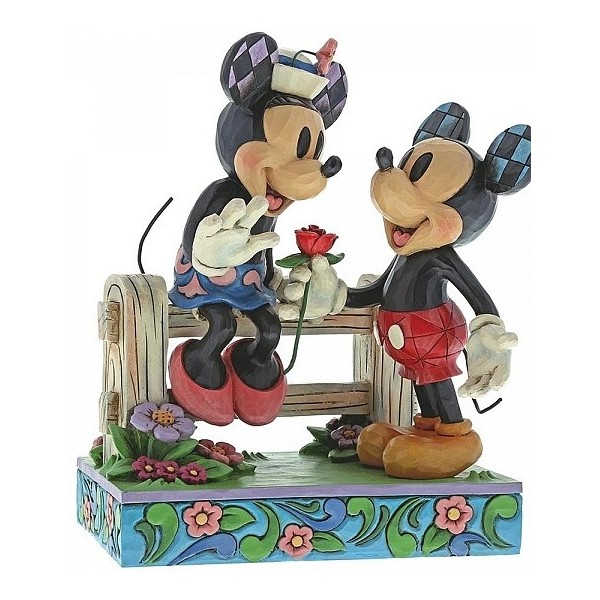 MINNIE E TOPOLINO ROMANTICO INCONTRO DISNEY TRADITIONS