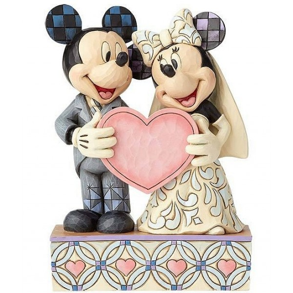 IL MATRIMONIO DI DUE ANIME E UN CUORE DISNEY TRADITIONS TOPOLINO E MINNIE