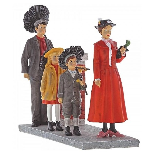 STEP IN TIME STATUINA MARY POPPINS DISNEY ENCHANTING