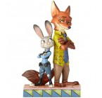 ZOOTOPIA JUDY E NICK DISNEY TRADITIONS JIM SHORE