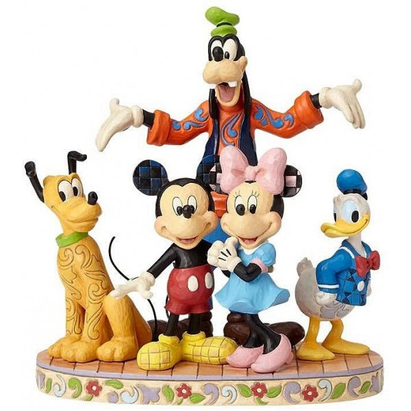 FAB FIVE CHARACTERS DISNEY TRADITIONS JIM SHORE