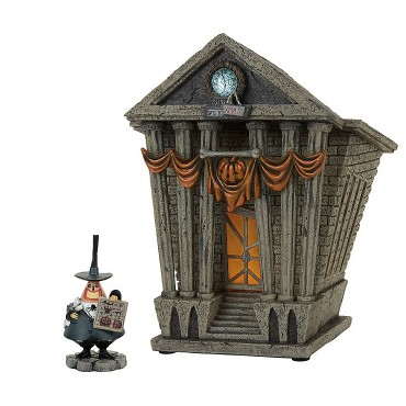THE MAYOR E HALLOWEEN TOWN CITY HALL DISNEY DEPT.56