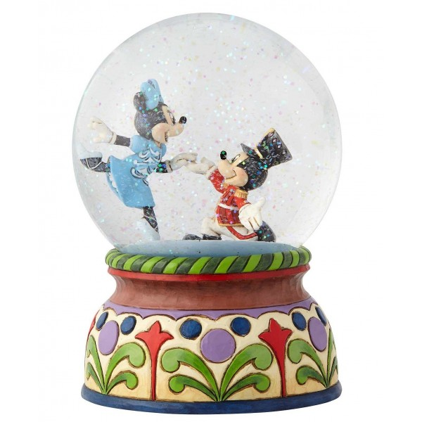 "SNOWGLOBE MUSICALE ""LO SCHIACCIANOCI"" (THE NUTCRACKER) DISNEY TRADITIONS"