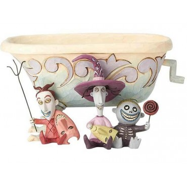 LOCK SHOCK BARREL E LA VASCA PORTA-DOLCI DISNEY TRADITIONS