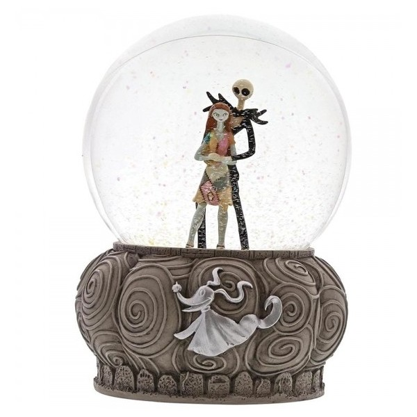 SNOWGLOBE JACK E SALLY DISNEY SHOWCASE