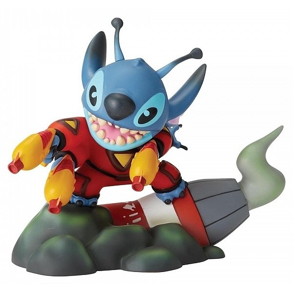STITCH GRAND JESTER STATUINA DISNEY VINYLE