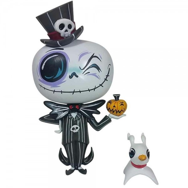 JACK SKELLINGTON E ZERO VINILE DISNEY MISS MINDY