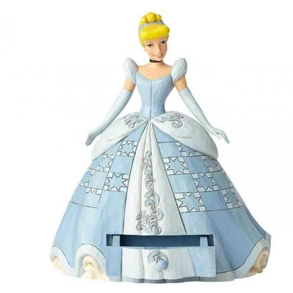 CENERENTOLA SECRET CHARM STATUINA DISNEY TRADITIONS