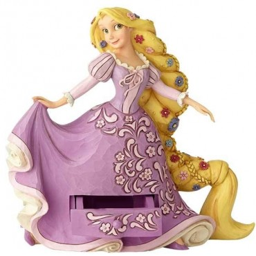 RAPUNZEL SECRET CHARM STATUINA DISNEY TRADITIONS
