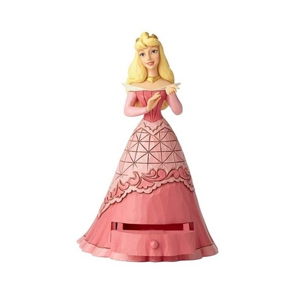 AURORA SECRET CHARM FIGURINE DISNEY TRADITIONS