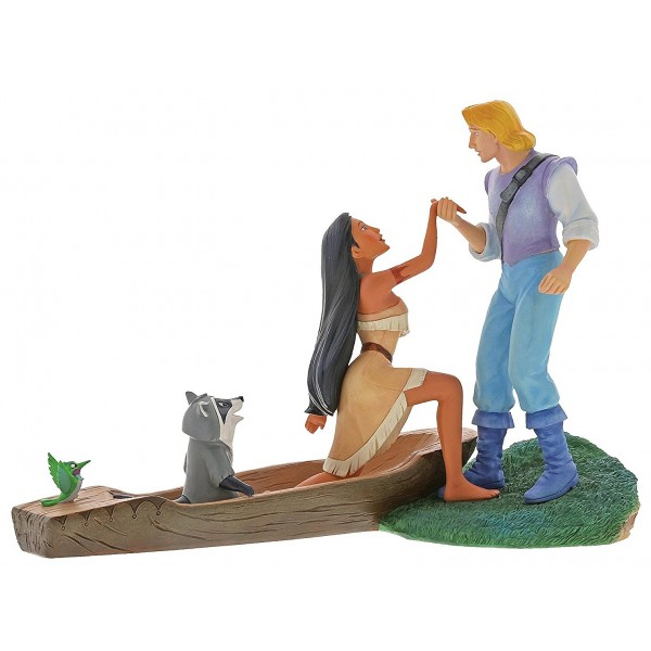 POCAHONTAS E JOHN SMITH DISNEY ENCHANTING