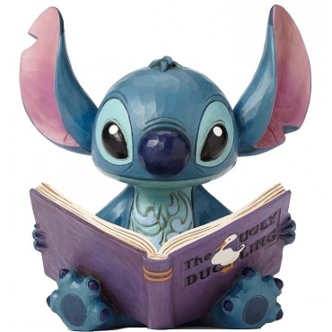 STITCH CON LO STORYBOOK DISNEY TRADITIONS JIM SHORE