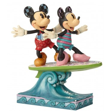 TOPOLINO E MINNIE FANNO SURF DISNEY TRADITIONS