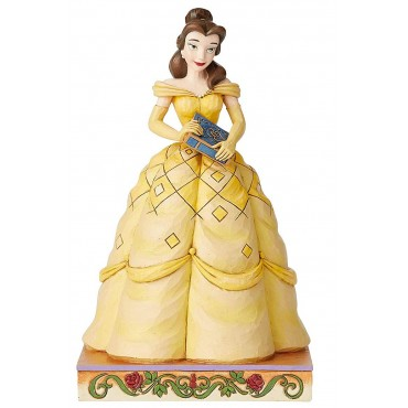 STATUINA PRINCIPESSA BELLE DISNEY TRADITIONBS