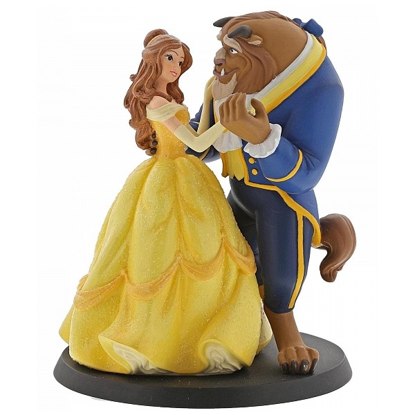 LA BELLA E LA BESTIA CAKE TOPPER DISNEY ENCHANTING