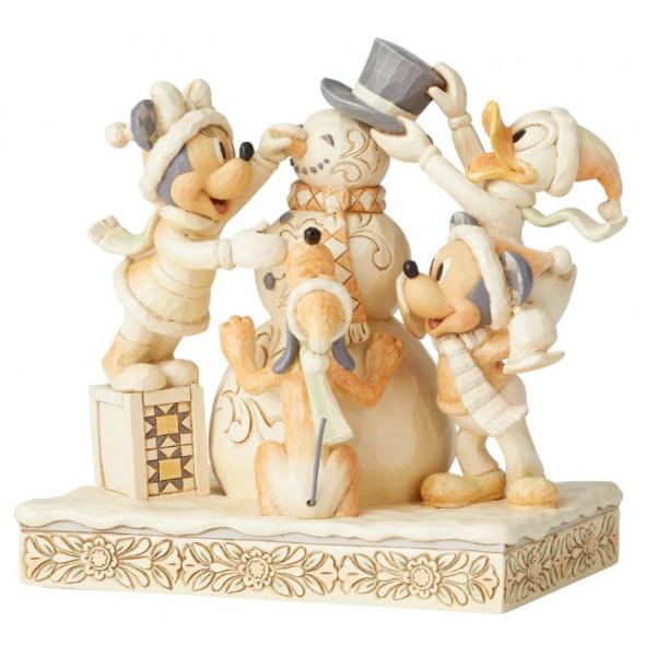TOPOLINO WHITE WOODLAND DISNEY TRADITIONS