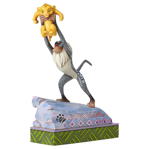 RAFIKI E BABY SIMBA DISNEY TRADITIONS JIM SHORE