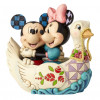 TOPOLINO E MINNI NEL CIGNO - DISNEY TRADITIONS