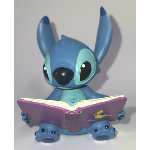 MINI STITCH CON LIBRO - DISNEY SHOWCASE