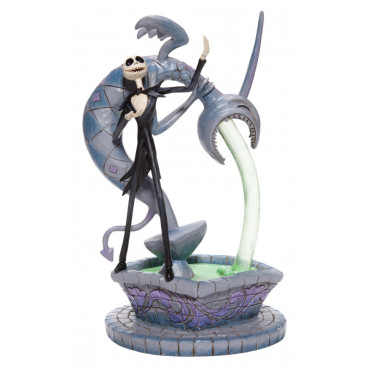JACK SKELLINGTON SU UNA FONTANA- DISNEY TRADITIONS