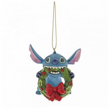 ADDOBBO STITCH DI NATALE - DISNEY TRADITIONS