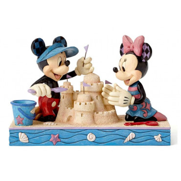 MICKEY E MINNIE IN SPIAGGIA - DISNEY TRADITIONS