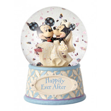 SNOWBALL MATRIMONIO DI TOPOLINO E MINNI - DISNEY TRADITIONS