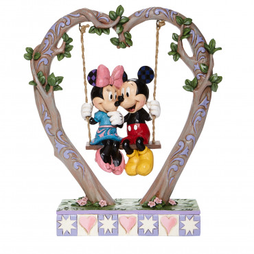 TOPOLINO E MINNI SULL'ALTALENA - DISNEY TRADITIONS