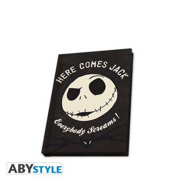 QUADERNO JACK FOSFORESCENTE - DISNEY NIGHTMARE BEFORE XMAS