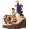WOOD CARVED BIANCANEVE DISNEY TRADITIONS