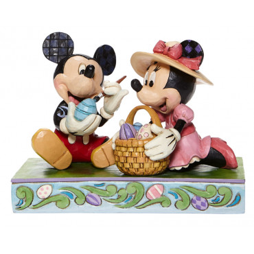 TOPOLINO E MINNIE DI PASQUA - DISNEY TRADITIONS