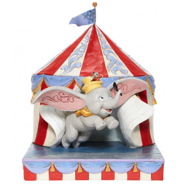 DUMBO ESCE DALLA TENDA - DISNEY TRADITIONS