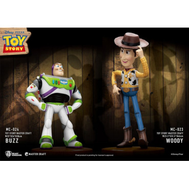 PACK WOODY & BUZZ MASTERCRAFT - DISNEY TOY STORY
