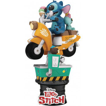 STITCH SU SCOOTER IN MOVIMENTO- DISNEY D-STAGE