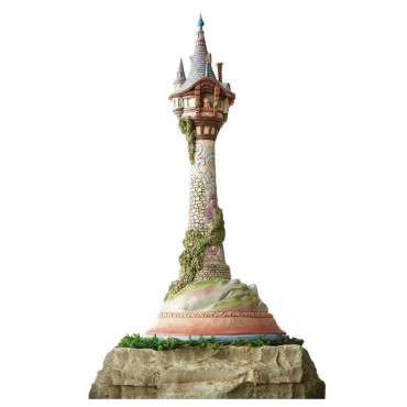 MASTERPIECE RAPUNZEL TOWER - DISNEY TRADITIONS