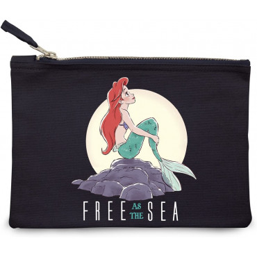 "PORTA TRUCCHI "" FREE AS THE SEA "" - DISNEY"